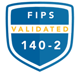 FIPS 140-2 Validated - Cryptographic Module